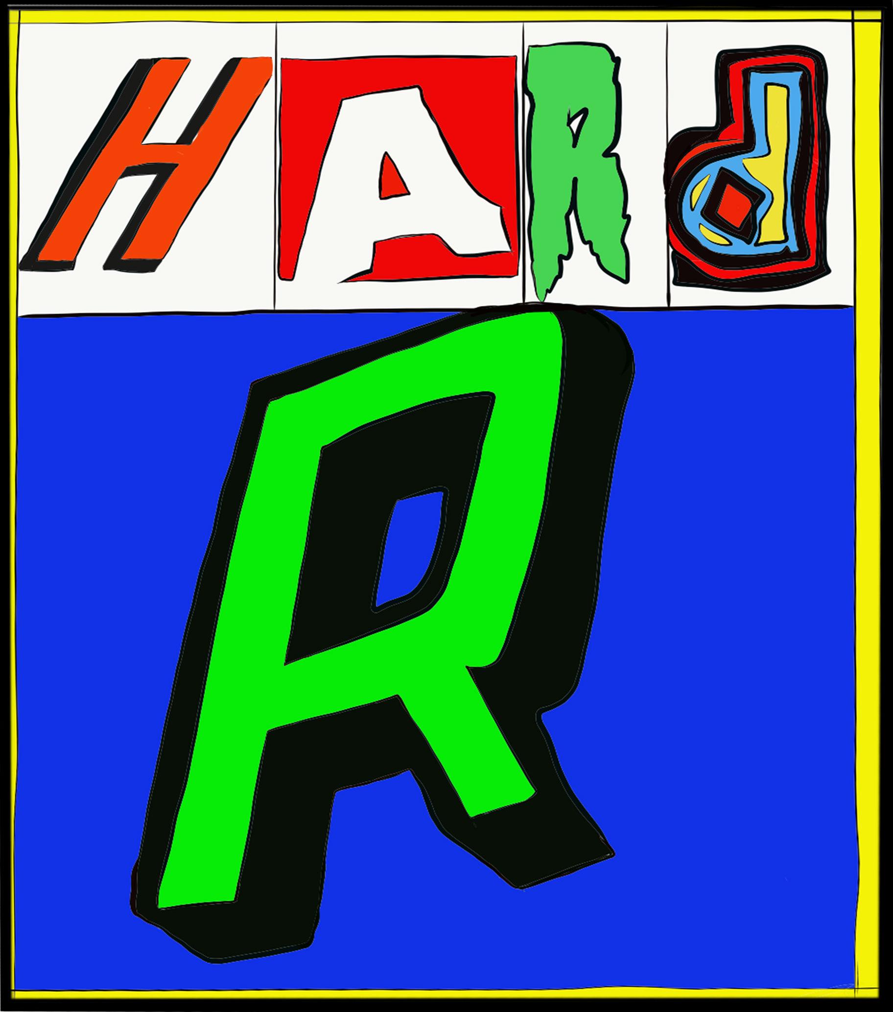 the hard R