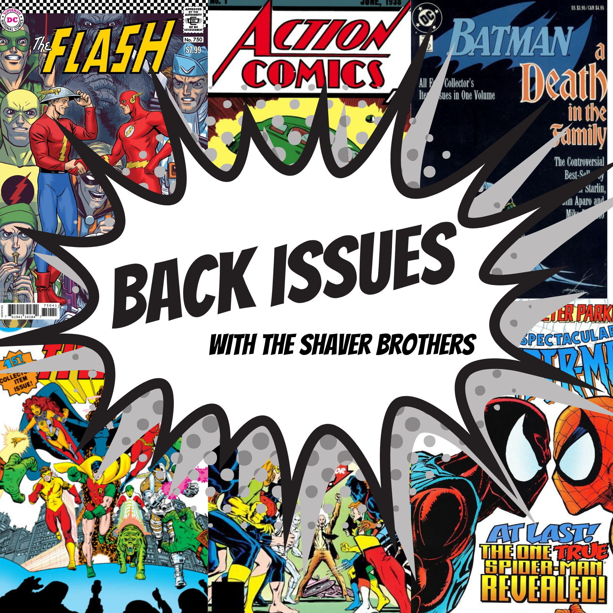 Back Issues - The Greatest Comic Book Stories Ever Told